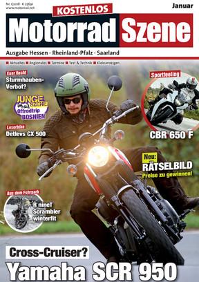 MotorradSzene 01/18