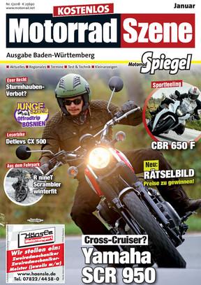 MotorradSzene Spiegel 01/18