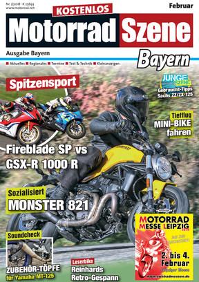 MotorradSzene Bayern 02/18