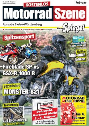 MotorradSzene Spiegel 02/18