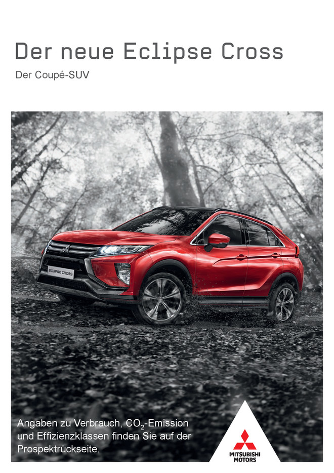 Eclipse Cross Modellprospekt 01/2018
