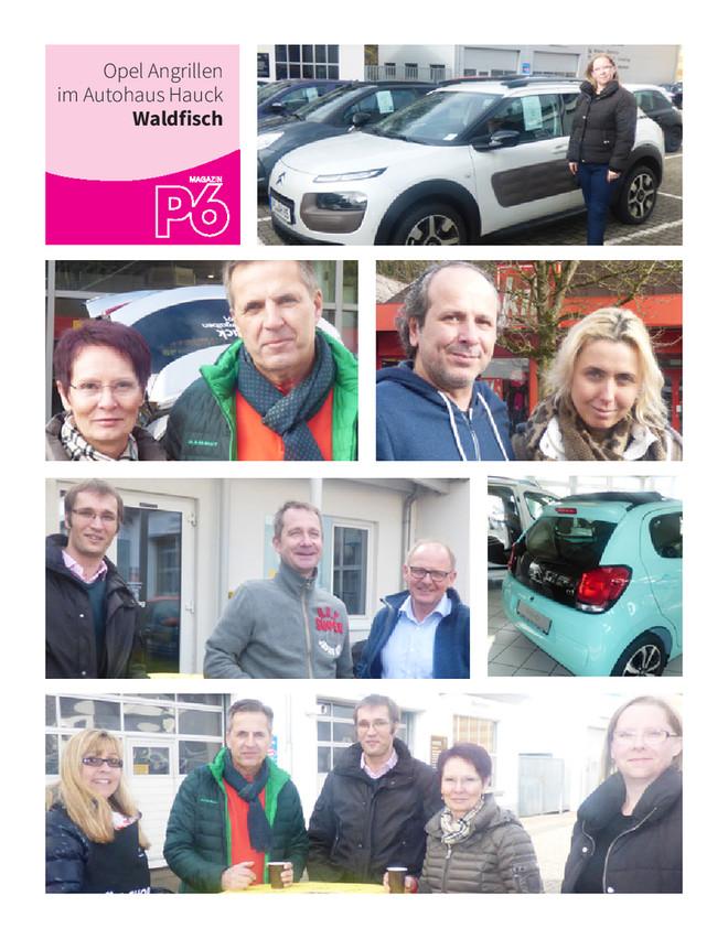 Opel Angrillen im Autohaus Hauck