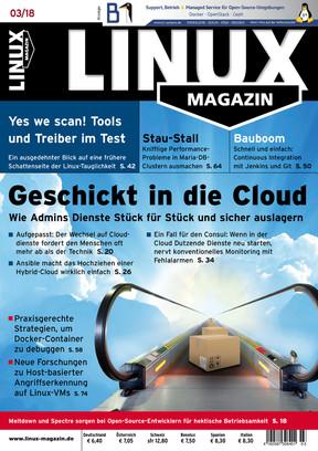 Linux-Magazin 03/2018 Linux Magazin