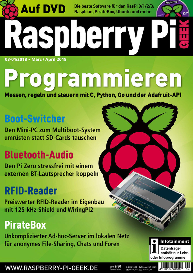 Raspberry Pi Geek 03-04/2018 Raspberry Pi Geek