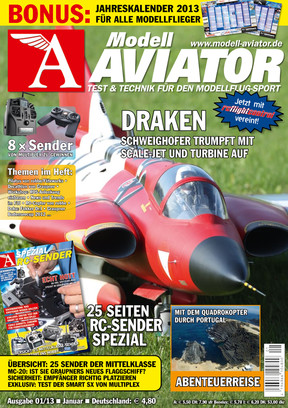 Modell AVIATOR Ausgabe 01/2013