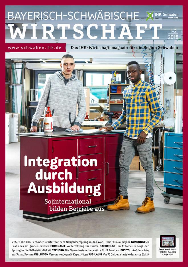 Bayerisch-Schwäbische Wirtschaft 1-2/2018