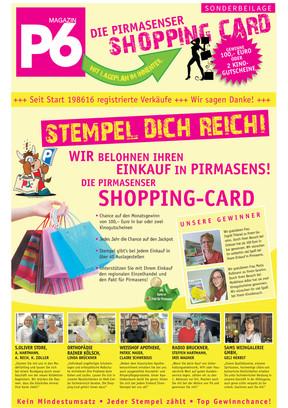 April 2017 - Pirmasenser Shopping Card