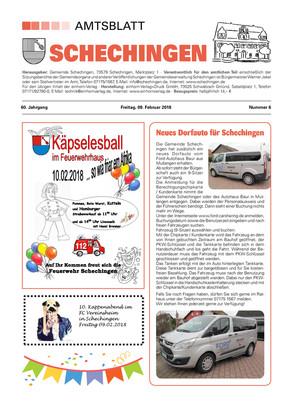 Amtsblatt Schechingen KW 06 2018