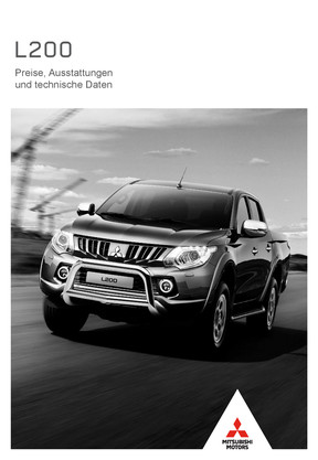 L200 Preis- / Datenblatt 02/2018