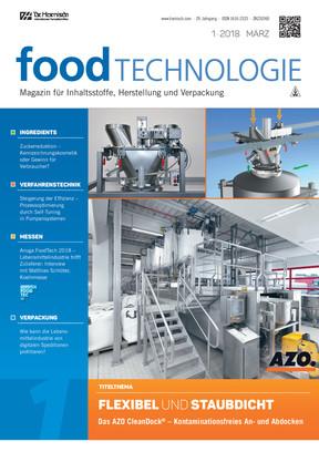 Food Technologie 1/18