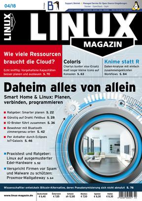 Linux-Magazin 04/2018 Linux Magazin