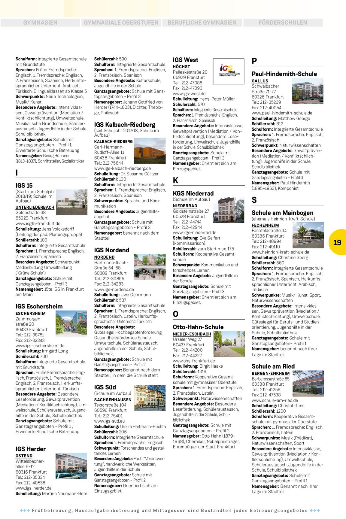 Schulwegweiser 20182019 Journal Kiosk