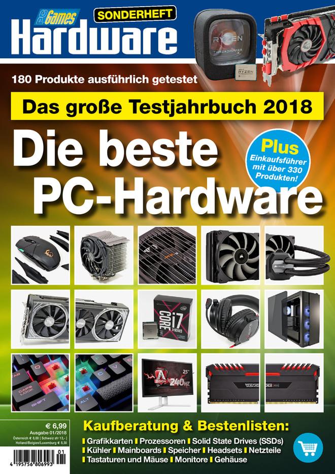 Testjahrbuch 2018: Die beste PC-Hardware