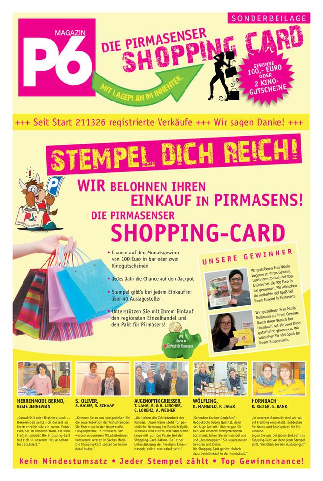 April 2018 - Pirmasenser Shopping Card