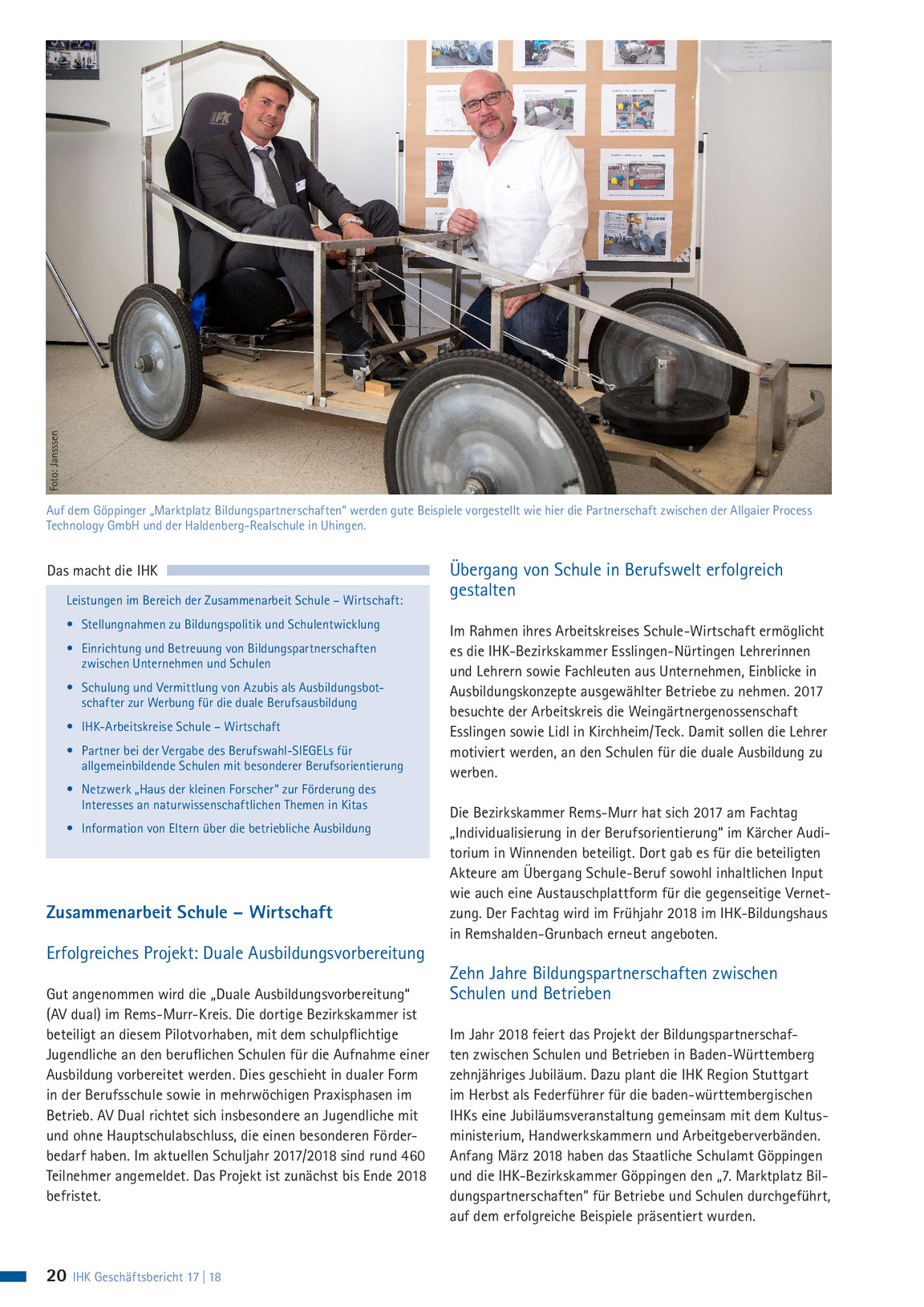 IHK-Geschäftsbericht 17/18 | IHK Stuttgart Magazin
