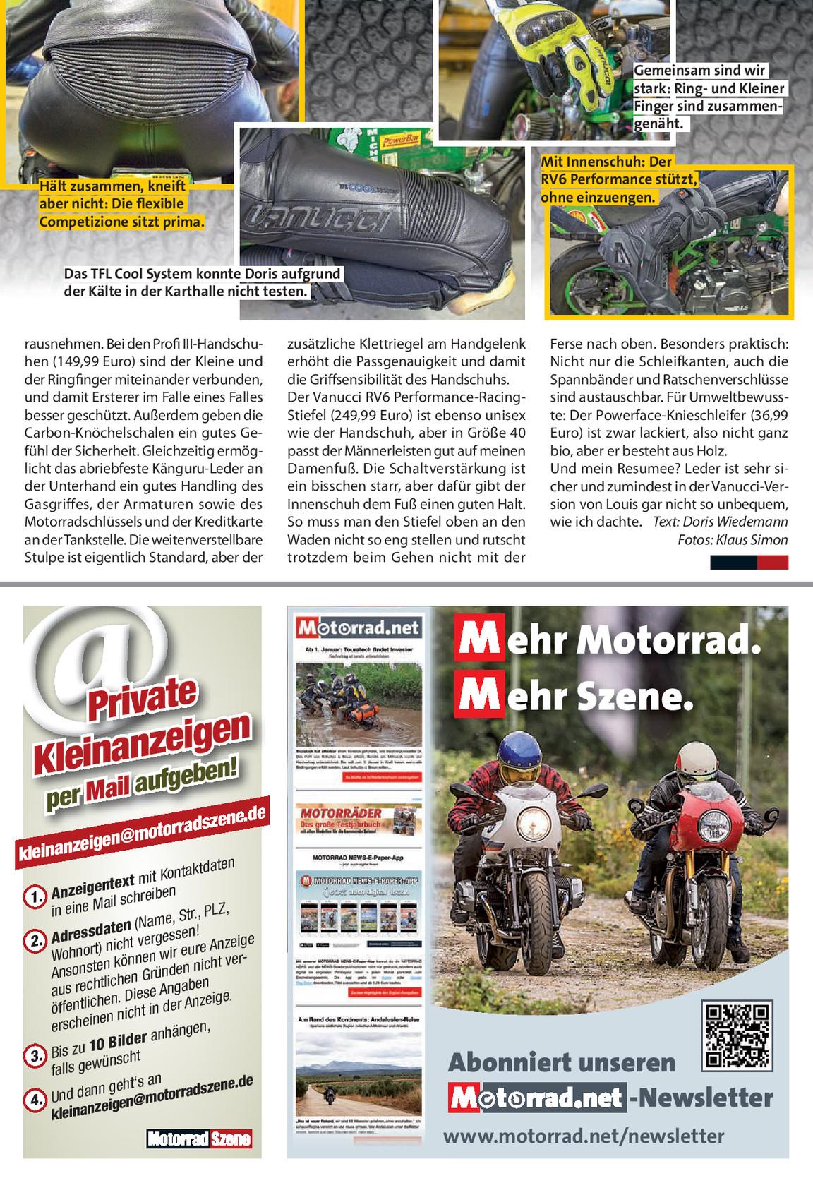 Motorradszene Spiegel 0418 Motorradszene