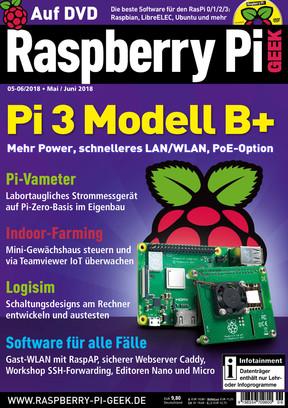 Raspberry Pi Geek 05-06/2018 Raspberry Pi Geek