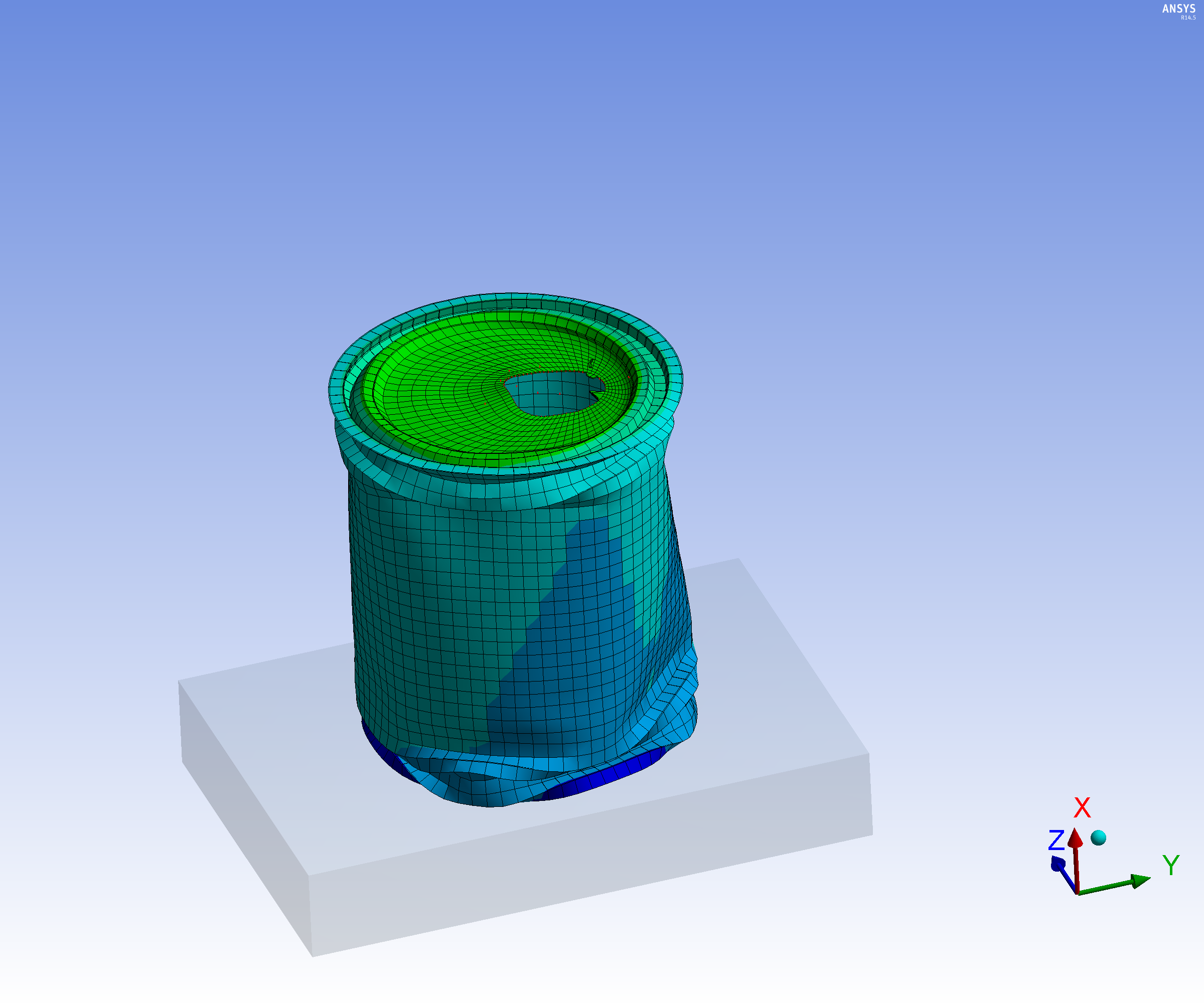 ANSYS Explicit Dynamics - EDRMedeso