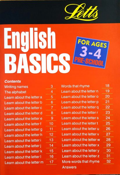 Leap Ahead: English Basics 3-4 2 leap ahead english basics 3 4 contents page