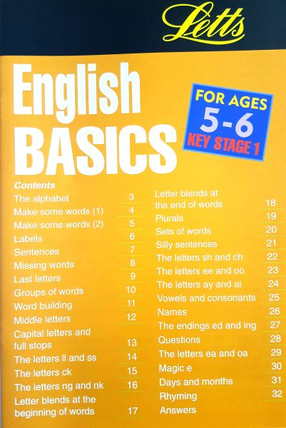 Leap Ahead: English Basics 5-6 2 leap ahead english basics 5 6 contents page
