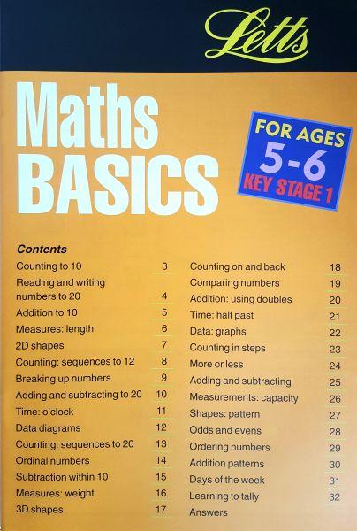Leap Ahead Maths Basics Age 5-6