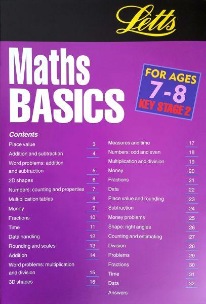 Leap Ahead Maths Basics 7-8