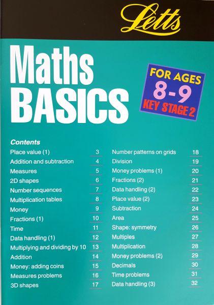 Leap Ahead Maths Basics 8-9