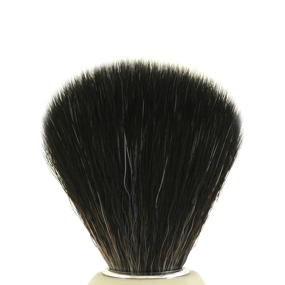 Synthetic Black Fibre Shaving Brush