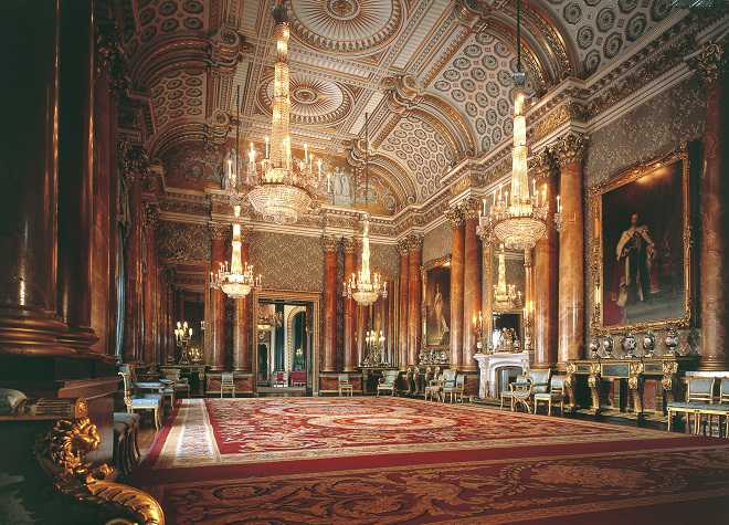 Buckingham Palace Inside