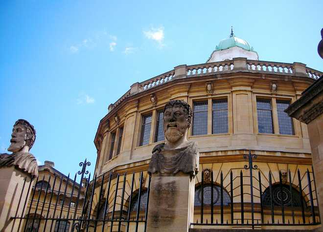 Sheldonian Theatre Oxford University