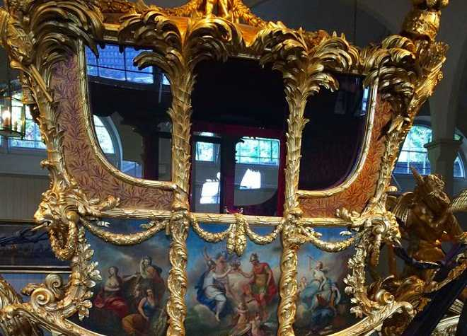 Royal Mews State Coach Close Up