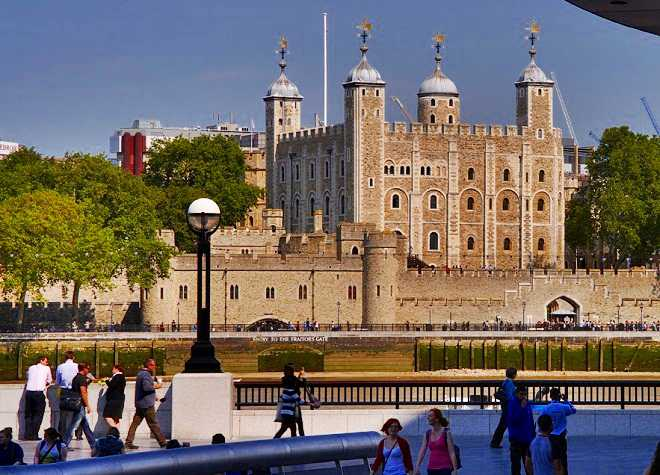 Tower of London Across The Water