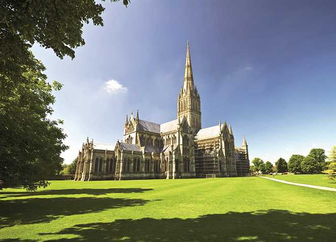 Salisbury Cathedral Long Shot