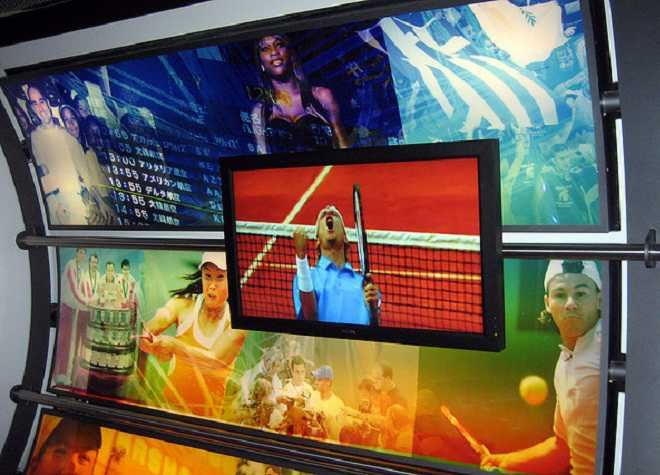 Wimbeldon Tennis Museum TV
