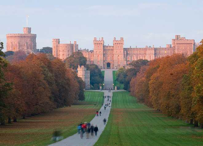 Windsor Castle Outside View