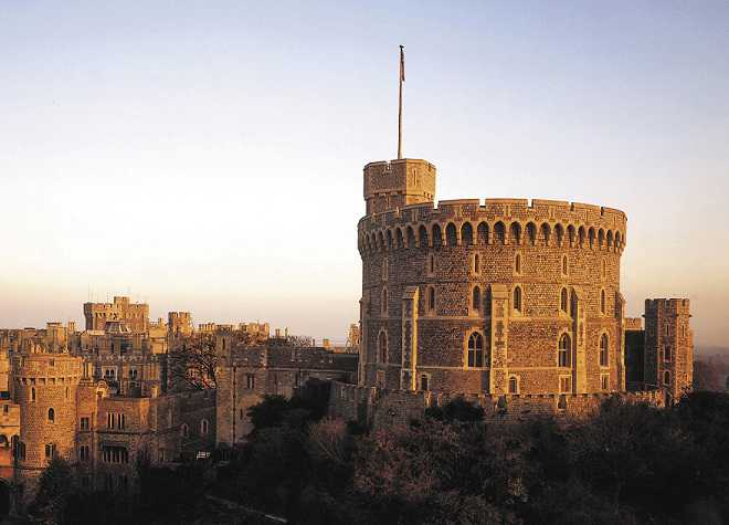 Windsor Castle Aerial View