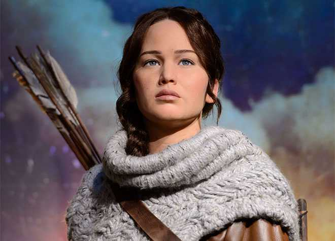 Madame Tussauds Hunger Games Katniss