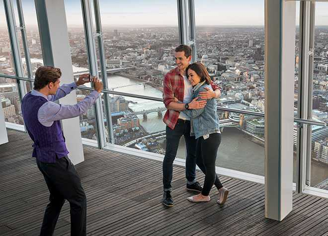 Taking Pictures View From The Shard