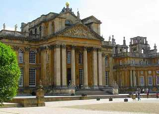 Blenheim Palace Front Outside