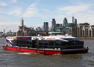 City Cruise Boat Thames