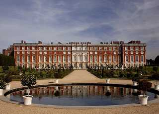 Hampton Court Palace Front Shot
