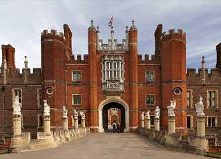 Hampton Court Palace Front