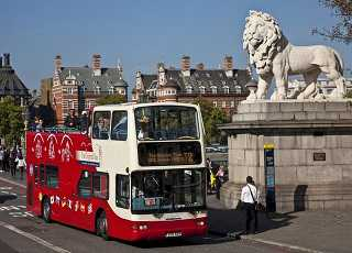 Original London Tour Double Decker Bus