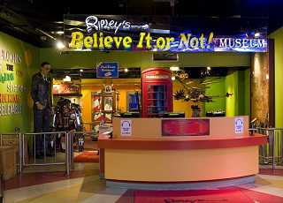 Ripleys Believe It or Not Entrance