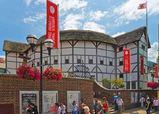 Shakespeare Globe Theatre Outside