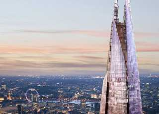 View From The Shard Top