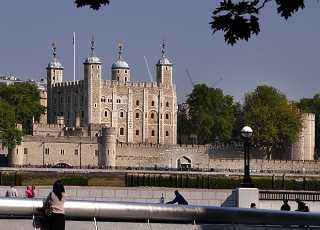 Tower of London Outside View