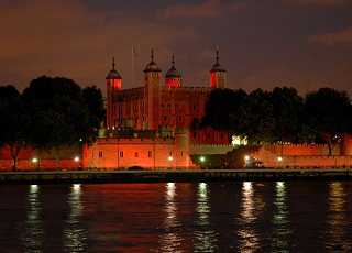 Tower of London Night Long Shot