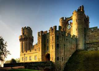 Warwick Castle Outside