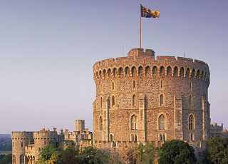 Windsor Castle Tower Outside